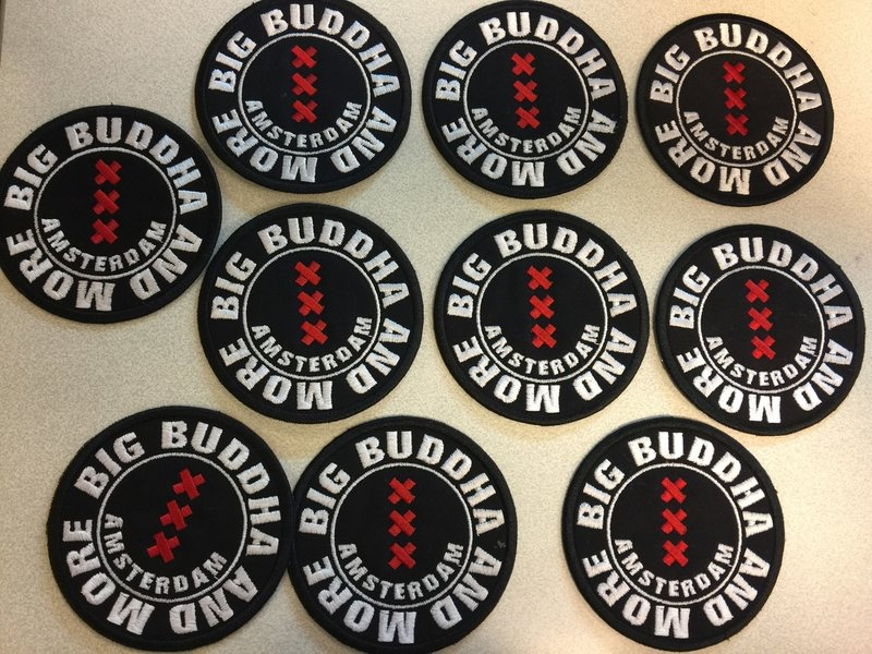 badges borduren vanaf 3 stuks