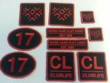 badges per stuk borduren