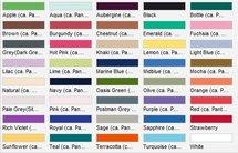 PW151 Colours' Mid Length Apron (sloofje) PREMIER