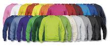 021030 Sweater Basic Roundneck Signaal-Oranje Clique