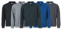 021032 Basic Polo Sweater Kobalt Clique