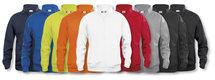 021038 Basic Cardigan Grijs Melange Clique