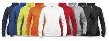 021039 Basic Cardigan Ladies Signaal Oranje Clique