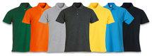 028230 Basic Polo Diep Oranje Clique