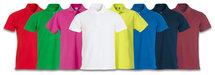 028230 Basic Polo Appel Groen Clique