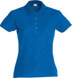 028231 Basic Polo Ladies Kobalt Clique