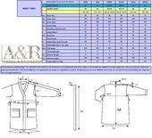 ARC140 Badjas met Capuchon Antracite Grey (donkergrijs) A&R