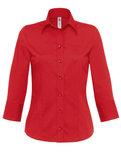 BCSW520 Shirt Milano / Dames B&C, Beurs Evenement blouses dames Logo Borduren