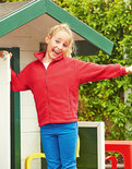 F800K Kids Fleece Jacket Fruit of the Loom