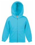 F401NK New Kids Hooded Sweat Jacket Fruit of the Loom