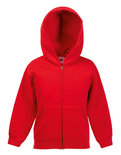 F401NK New Kids Hooded Sweat Jacket Fruit of the Loom
