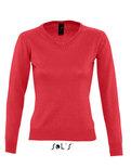 L411 Dames V-Hals Sweater Galaxy Sol's