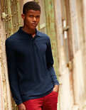 F541N Longsleeve Polo Fruit of the Loom