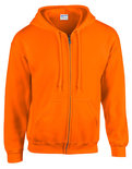 G18600 Heavy Blend Full Zipp Hooded Sweatshirt Gildan