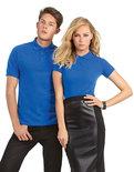 BCPU409 Polo Safran / Unisex B&C Logo Borduren op Dames & Heren Poloshirts