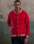 JH041 College Jacket Just Hoods
