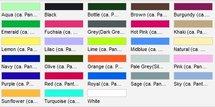 PW158 Colours' Bar Schort (sloof) PREMIER met Tekst en/of Logo Borduren, Horeca Bedrijfskleding