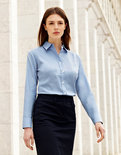 F700 Lady-Fit Oxford Shirt met lange mouwen Fruit of the Loom