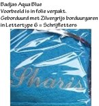 AR328 Badjas Aqua Blue (aquablauw) A&R