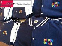 PAKKET >30 Baseball Jassen met Logo Borduren! merk JustHoods