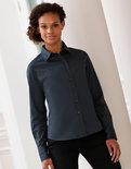 Z916F Dames Classic Twill Shirt met Lange mouwen RUSSELL