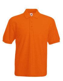 PAKKET >30 Poloshirts met (Bedrijfs) Logo Borduren! Heren Pique Poloshirts Fruit of the Loom 65/35